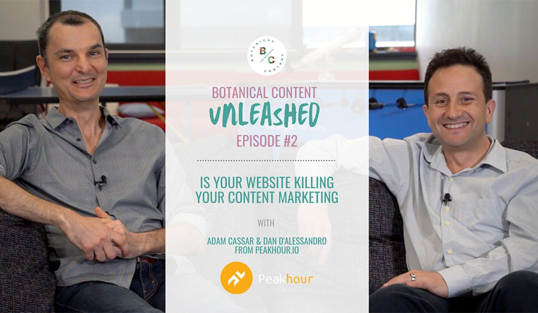 Botanical Content Unleashed Episode 2 with Peakhour.io